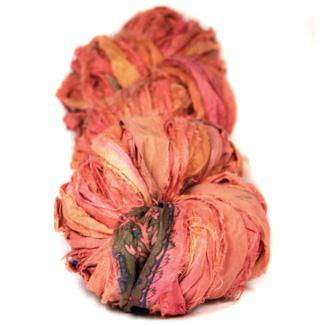 Sari Ribbon - Coral/Salmon