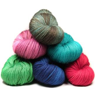 NOM sock yarn club - monthly