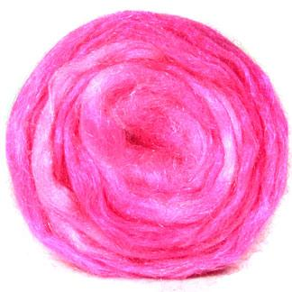 Hand dyed Firestar - hot pink