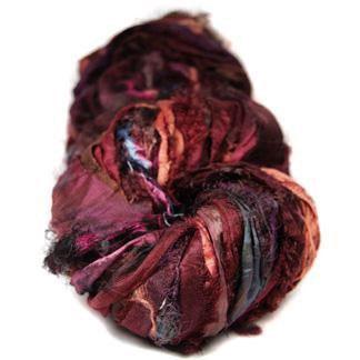 Sari Ribbon - Black Cherry