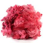 Red Merino dyed fleece - 4 oz