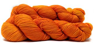 SUPER SLINK merino/silk lace - Cadmium Orange