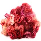English Leicester fleece- petal pink