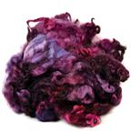 English Leicester fleece- plum