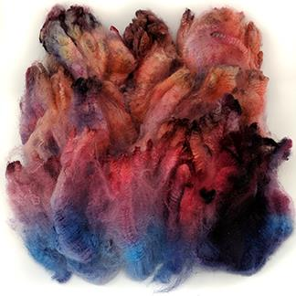 CVM x Merino x Bond dyed fleece - 4.6 oz